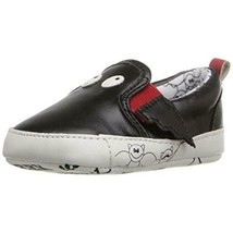 Rosie Pope Kids Footwear Black Bat Infant Boys Faux Leather Crib Shoes b... - $4.99
