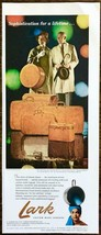 1961 Lark Custom Made Luggage PRINT AD Sophistication for a Lifetime - $10.69