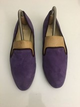 Cole Haan AIR MORGAN Slipper Ballet Flats Women's Purple Shoes 9 B - $29.69