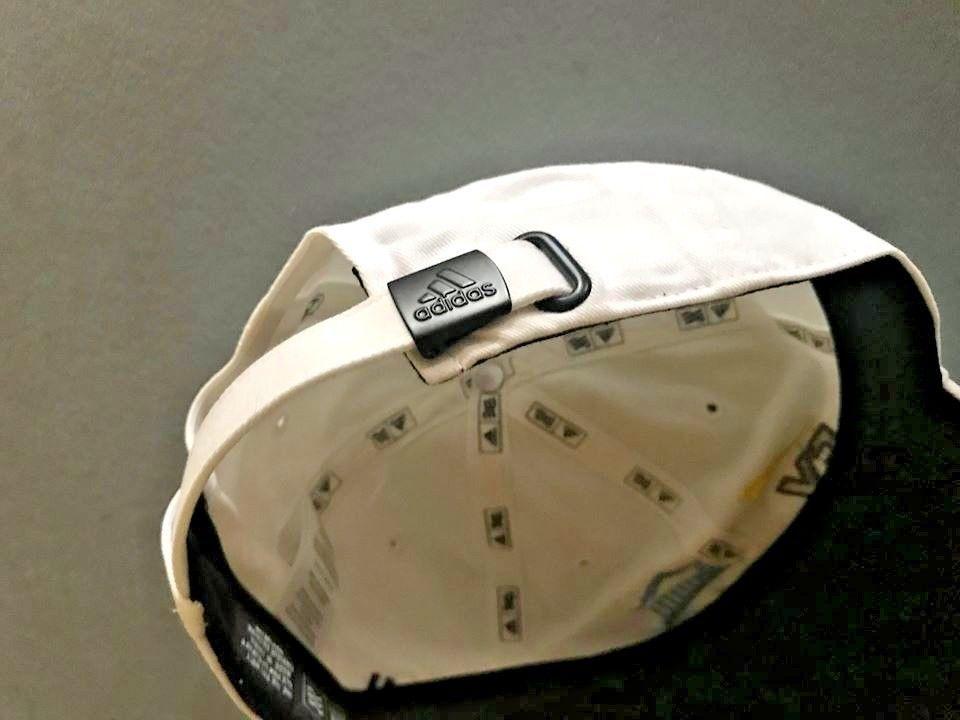 new adidas EY Parthenon WHITE GOLF HAT baseball cap One Size Men Women Unisex