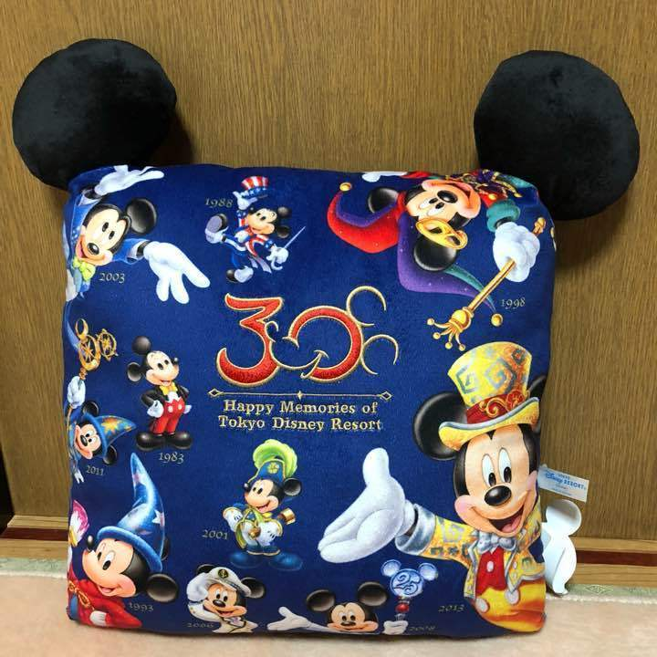 Primary image for Tokyo Disney Resort 30th Anniversary Mickey Mouse The Happnes Year Cushion