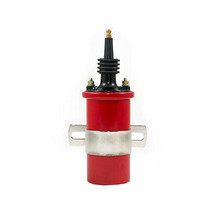 A-TEAM PERFORMANCE 45,000 VOLT OIL FILLED CANISTER MALE IGNITION COIL RED