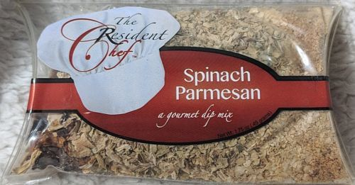The Resident Chef Spinach Parmesan Gourmet Dip Mix Cheeseball Warm Instructions