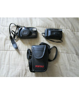 Pentax Zoom 105-R w/ Pouch & Canon Snappy EZ Cameras UNTESTED AS IS - $11.39