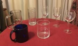 7-Piece Beverage Bundle (wine glasses, beer stein, tumbler, coffee mug) - $15.43