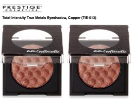 (2-PACK) Prestige Total Intensity True Metals Eyeshadow, Copper, 0.09 Oz - $22.99
