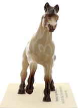 Hagen-Renaker Miniature Ceramic Horse Figurine Buckskin Mare with Leg Up image 2