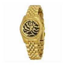 Michael Kors Women's MK3300 - Petite Lexington Gold/Black Watch - $92.37