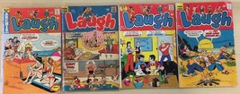 LAUGH lot of (4) issues, as shown (1969-1974) Archie Comics G/VG - $9.89