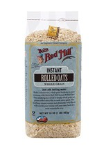 Bob's Red Mill Instant Rolled Oats, 16 Ounce Pack of 4 - $51.99