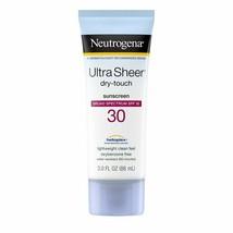 (3-Pack) BL Neutrogena Ultra Sheer Spf#30 Dry Touch Lotion 3 oz / 88ml - NEW  - $17.99