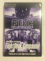 Flight Deck Companion Oncourse Software For Microsoft Flight Simulator 2002 - $19.79