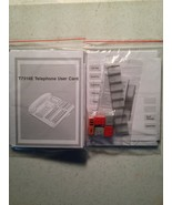 NEW Nortel Norstar Meridian T7316E Lit Button Pack Labels User Card Plas... - $5.75
