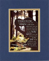 GoodOldSaying  Poem for Inspirations - Create in me a clean heart, O God... - $11.14