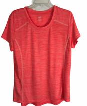 Zone Pro Womens Shirt Size XL (12-14) Pink Short Sleeve Athletic Wear NE... - $10.74