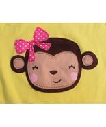 Jumping Beans Toddler Girls 18mo 18 Mo Monkey 100% Cotton Knit Shirt Top - $4.99