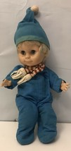 "Vintage Uneeda Doll Baby 10"" Soft Plastic And Fabric - $9.50"