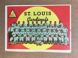 1959 Topps #223 ST. Louis Cardinals Team Baseball Card VG+/EX Gibson RF1 - $9.99