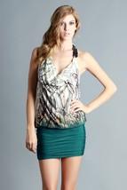 Cowlneck Halter Dress Size Small Medium or Large - $29.50