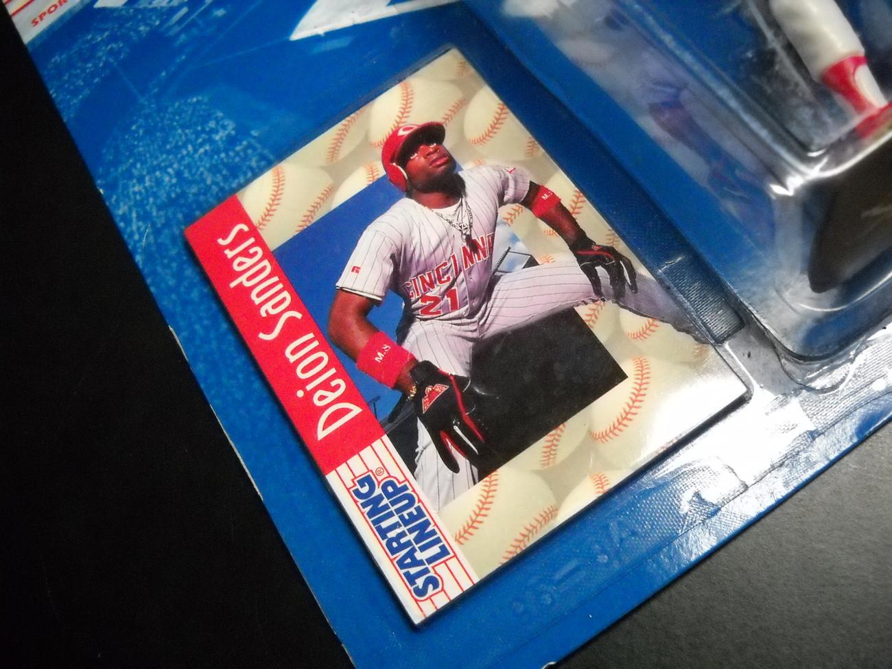 Starting LineUp 1997 10th Edition Deion Sanders Baseball Still Sealed on Card