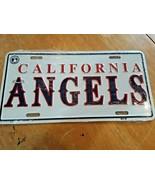 California Angels MLB Baseball Metal Embossed Front License Plate Car Tag  - $14.84