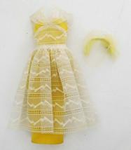 Vintage 1961-64 Tagged Barbie Orange Blossom Outfit Dress - $34.99