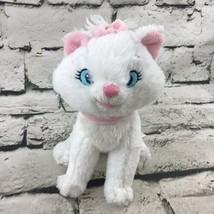 "Disney Store The Aristocats Marie Plush White Kitten Pink Bow Cute 7""Stu... - $14.84"