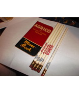 Agrico Fertilizer Memo Book with 5  Pencils from mid 1950's - $25.00