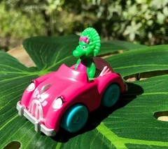 "Baby Bop Figure in Beetle Bug Convertible Style Vehicle 2 1/2"" Collector... - $14.45"