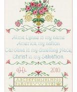 The Ginnie Sampler cross stitch chart Alma Lynne Originals - $7.00