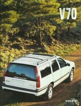 1999 Volvo V70 sales brochure catalog GLT T-5 R Cross Country XC - $9.00