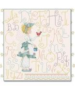 Angelic Sampler cross stitch chart Alma Lynne Originals - $7.00