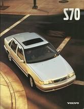 1999 Volvo S70 sales brochure catalog US 99 GLT T-5 AWD - $9.00