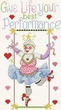 Francesca The Fabulous Trapeze Star cross stitch chart Alma Lynne Originals - $7.00