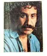 1972 Jim Croce Life & Times Songbook 13 Hits Sheet Music Guitar Piano Ly... - $19.34