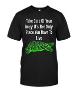 Take Care of your Body Turtle TShirt - $17.99+