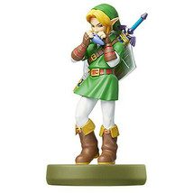 Nintendo amiibo Link Ocarina of Time The Legend of Zelda 3DS Wii U NEW JAPAN F/S - $38.64