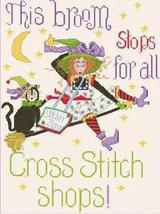 Stitchie Witchie cross stitch chart Alma Lynne Originals - $7.00