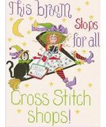 Stitchie Witchie cross stitch chart Alma Lynne Originals - $7.00