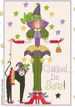 Charmed I'm Sure cross stitch chart Alma Lynne Originals - $6.30
