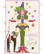Charmed I'm Sure cross stitch chart Alma Lynne Originals - $6.30