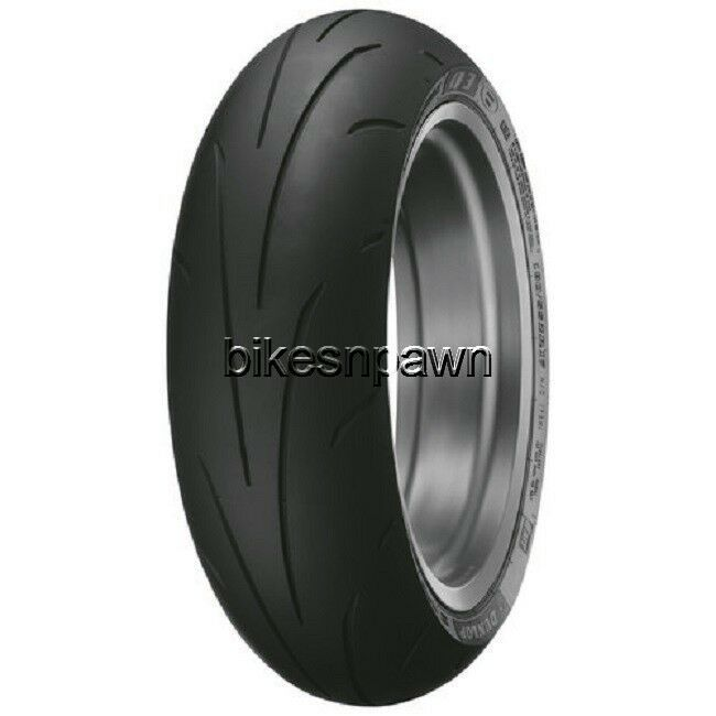 New Dunlop Sportmax Q3+ Hypersport Rear Radial 180/55ZR17 73W Motorcycle Tire