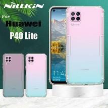 For Huawei P40 Lite CaseTPU 0.6mm Ultra Thin Soft Silicone TPU Back Cove... - $17.68