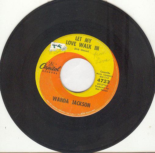 Wanda jackson let my love walk in