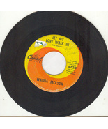 "Wanda Jackson 45 rpm ""Let My Love Walk In"" - $1.99"