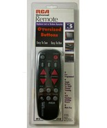 New in Package RCA Universal Remote Oversized Buttons Easy See Use Elderly - $22.76