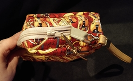 Clutch Bag/Wristlet/Makeup Bag - Music/Black & White Piano Keyboard image 4