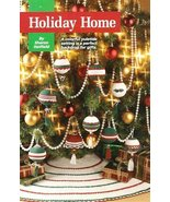 X713 Crochet PATTERN ONLY Christmas Tree Skirt & 9 Ornament Covers - $11.45
