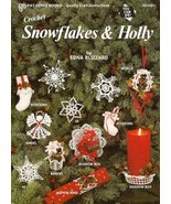 X787 Crochet PATTERN Book ONLY Snowflakes & Hol... - $9.45