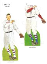 mel ott baseball paper doll 1985 new york giants - $9.99